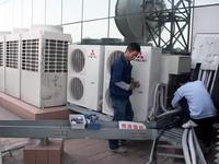 三菱电机空调维修如何加氟